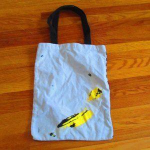 Andy Warhol Banana Print Tote Pop Art